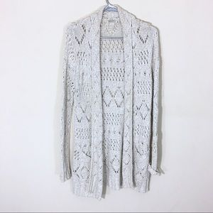 Lucky Brand Huntington Cardigan Large